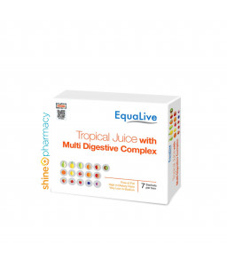 Equalive Tropical Juice with Multi Digestive Complex 7sx2gm